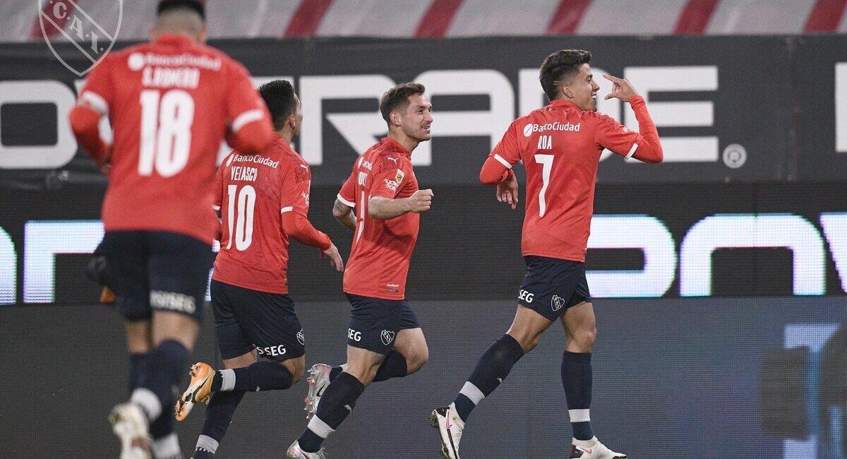 El Rojo derrotó a Patronato. Foto: @Independiente