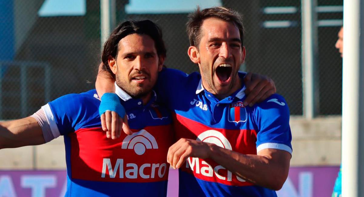 Tigre venció 2-1 a Independiente este miércoles. Foto: Twitter  @catigreoficial