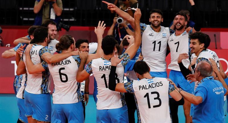 Argentina se subió al podio en vóley masculino