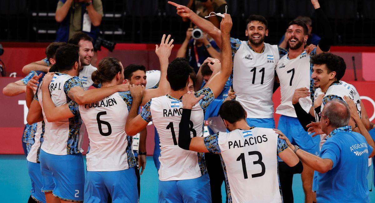 Argentina logró el bronce en Tokio 2020. Foto: EFE