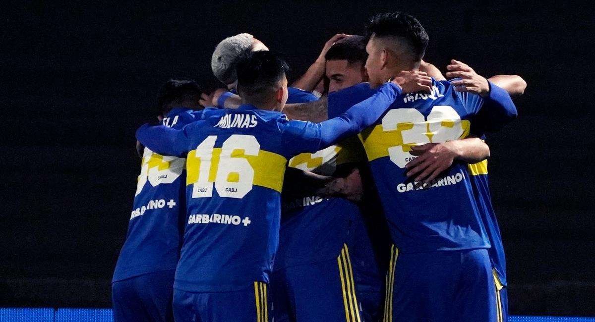 Boca derrotó a Platense. Foto: Twitter Boca Juniors