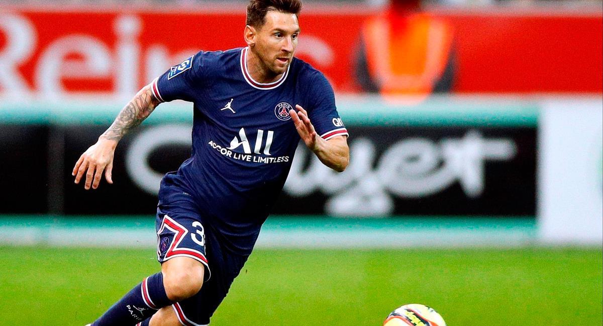 Lionel Messi empezó una nueva era en su carrera con el PSG. Foto: EFE