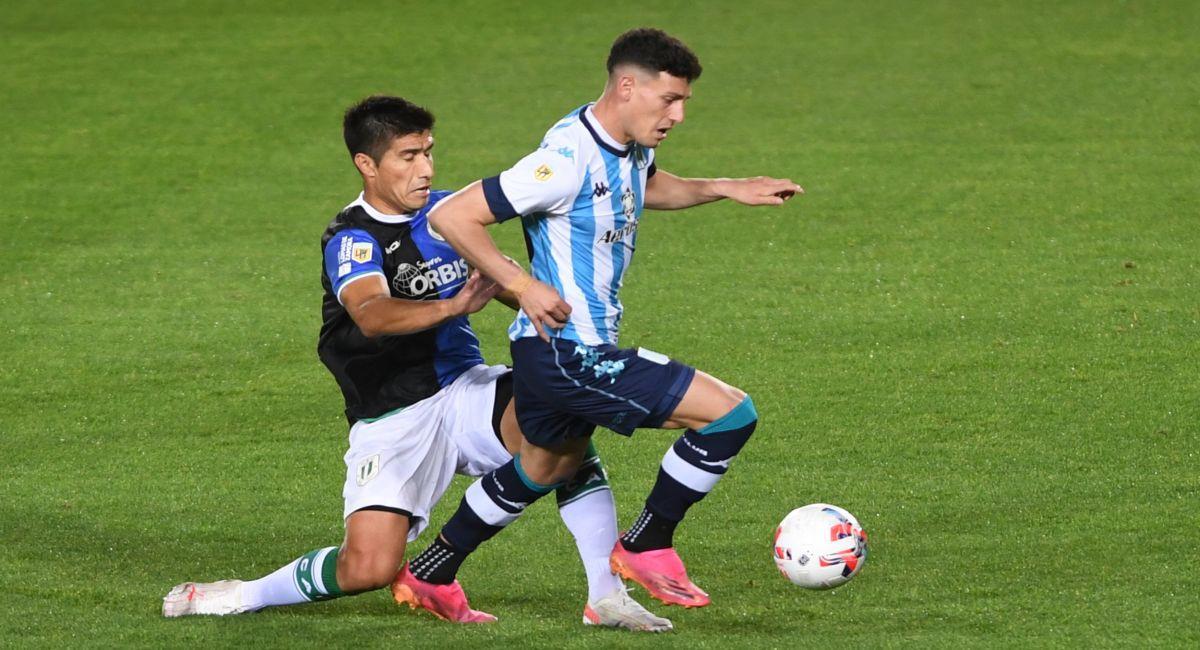 Racing no pudo con Banfield en la Liga Profesional. Foto: Twitter Liga Profesional de Argentina