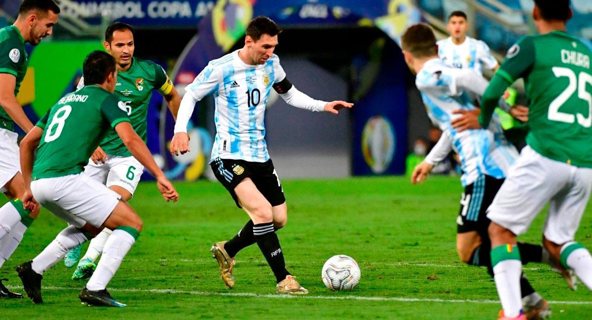 Argentina recibe a Bolivia por Eliminatorias Qatar 2022. Foto: Getty