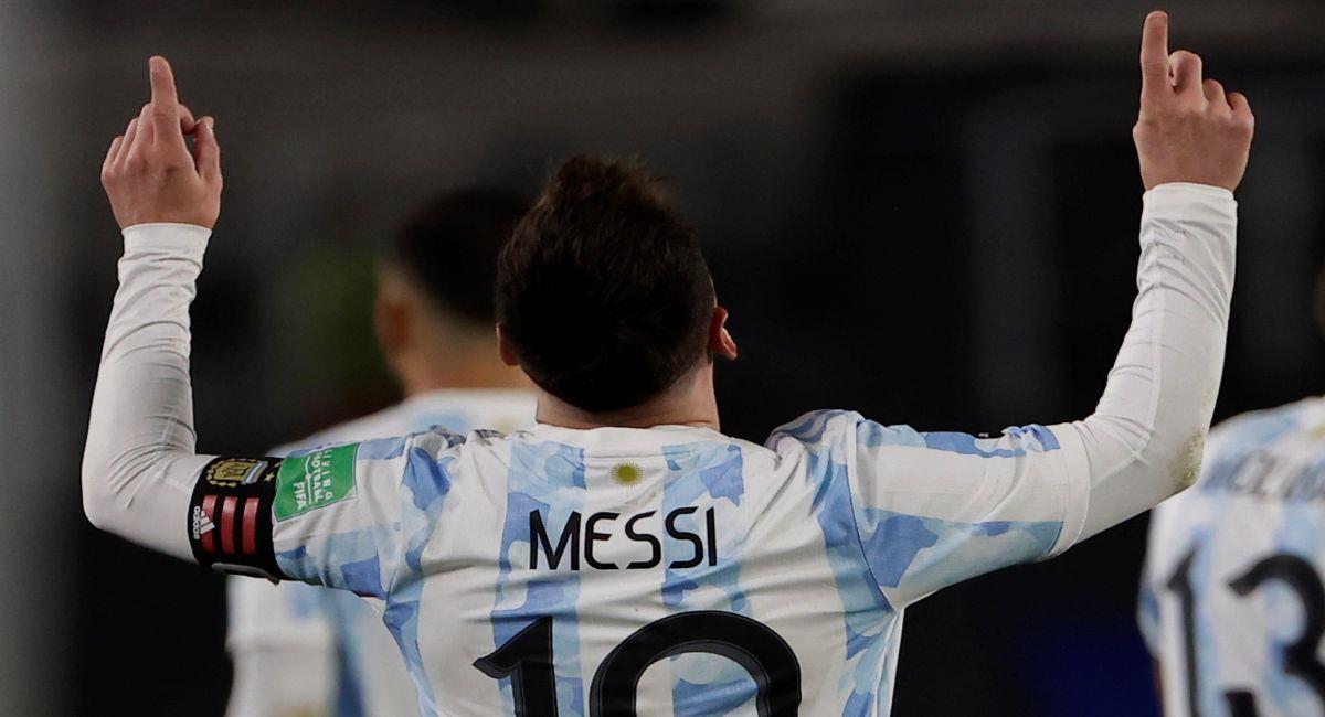 Argentina pasó por encima a Bolivia en Buenos Aires. Foto: EFE
