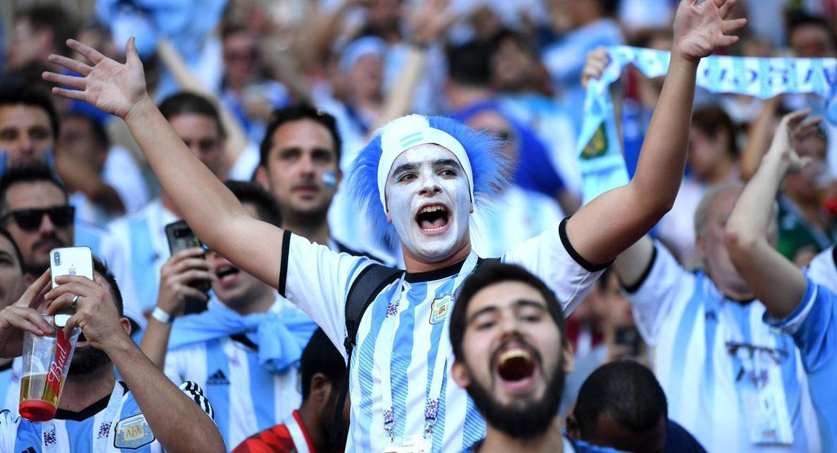 Hinchas vuelven al estadio tras 18 meses. Foto: Twitter Selección Argentina