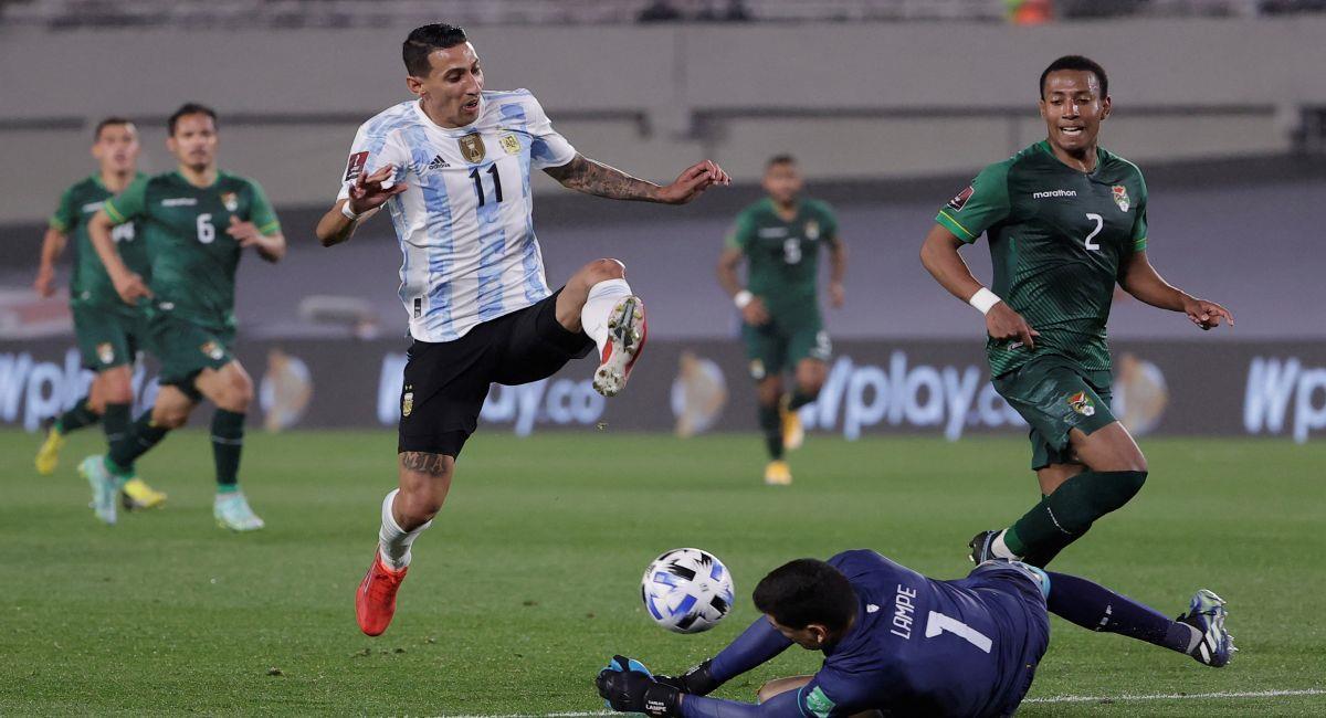 La selección de Argentina venció a Bolivia en Buenos Aires. Foto: EFE