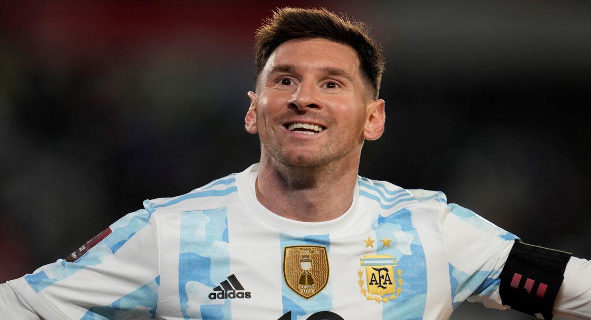Lionel Messi, la gran figura de Argentina. Foto: EFE