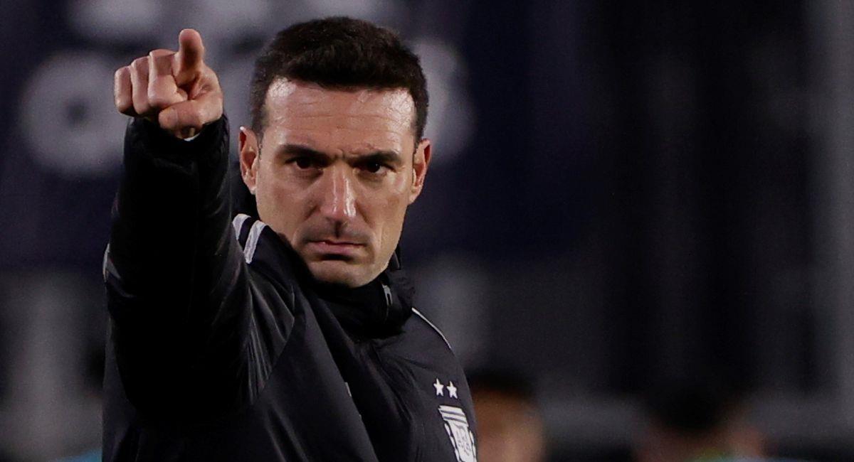 Lionel Scaloni, entrenador de Argentina. Foto: EFE