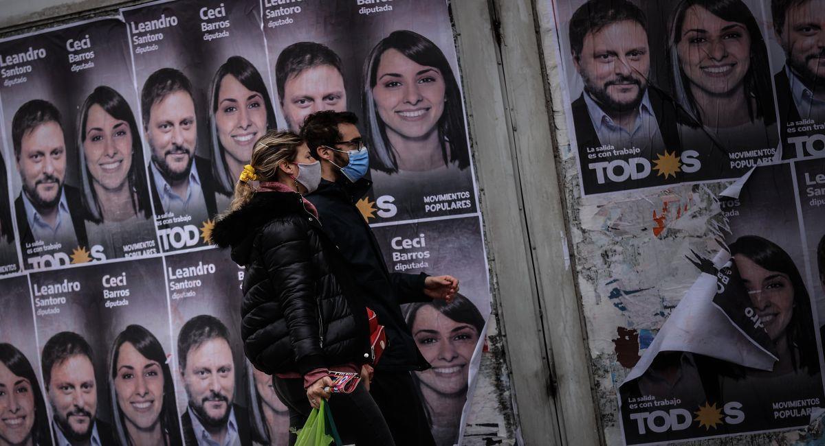Elecciones primarias en Argentina. Foto: EFE