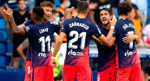 Atlético del 'Cholo' Simeone logró triunfazo
