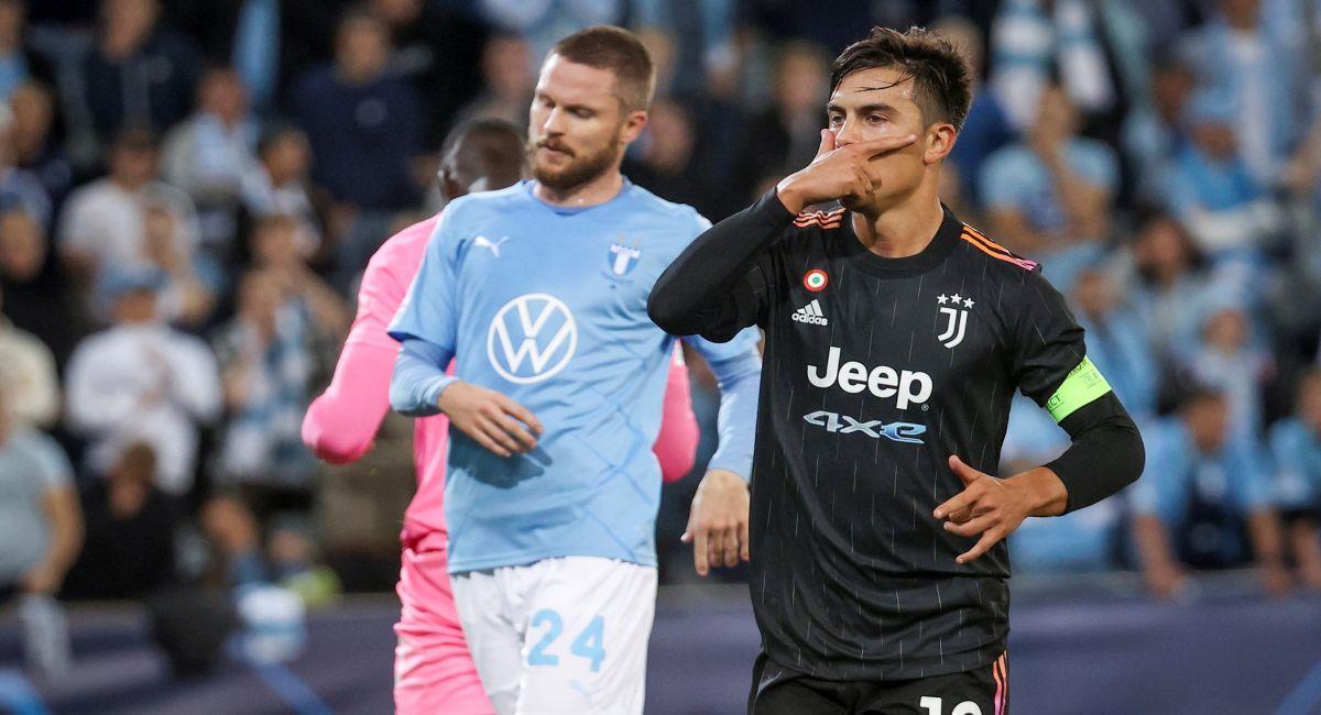 Juventus venció al Malmo en la Champions League. Foto: EFE