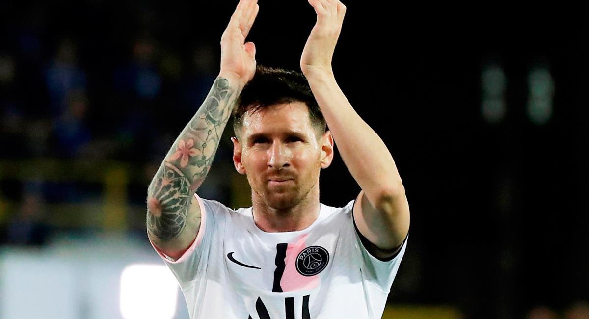 Lionel Messi ganará alrededor de 110 millones de euros de cumplir contrato. Foto: EFE