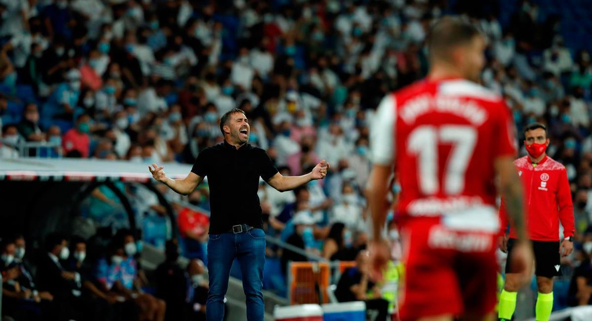 Eduardo Coudet no se encuentra feliz por el momento de Celta de Vigo. Foto: EFE