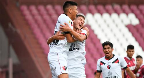Newell's dio el golpe ante Lanús