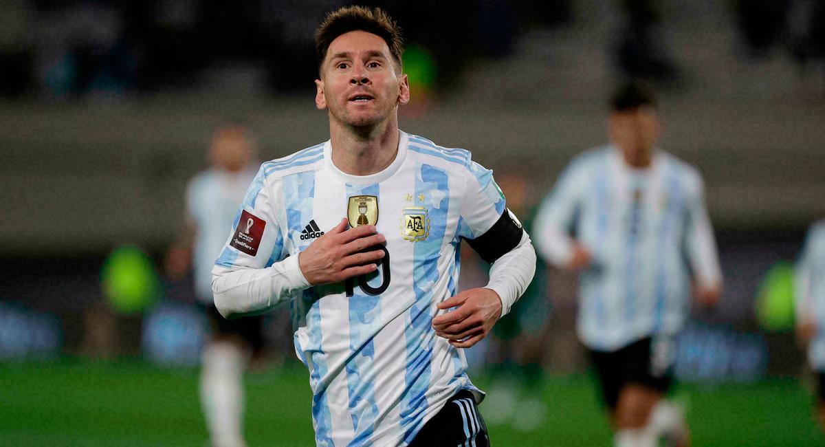 Lionel Messi rompió récord goleador con la Argentina. Foto: Twitter