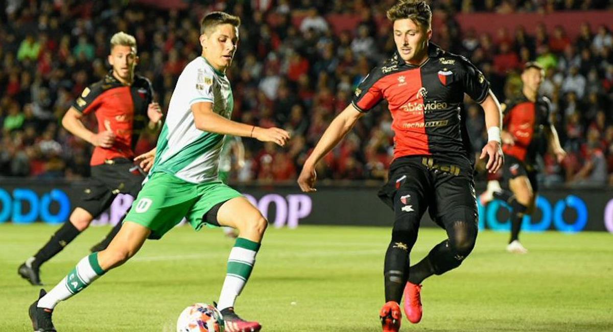 Colón igualó 0-0 con Banfield este lunes por la fecha 14 de la Liga Profesional. Foto: Twitter @LigaAFA