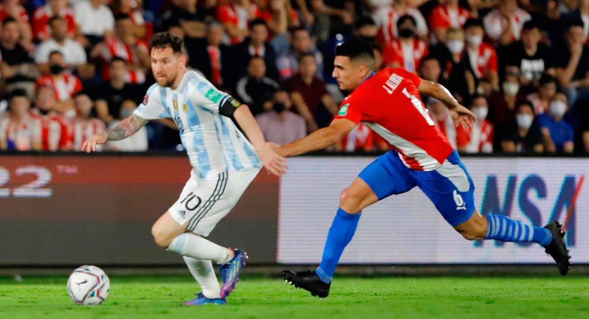 Argentina se llevó un punto de Asunción ante Paraguay. Foto: EFE