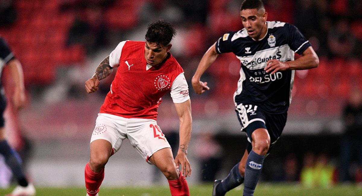 Independiente igualó ante Gimnasia. Foto: Twitter Independiente