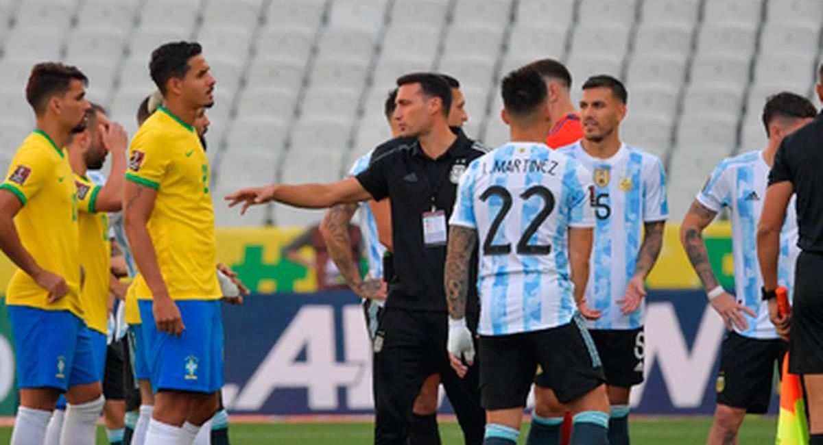 Conmebol se pronunció sobre el duelo suspendido del pasado mes de setiembre. Foto: Twitter