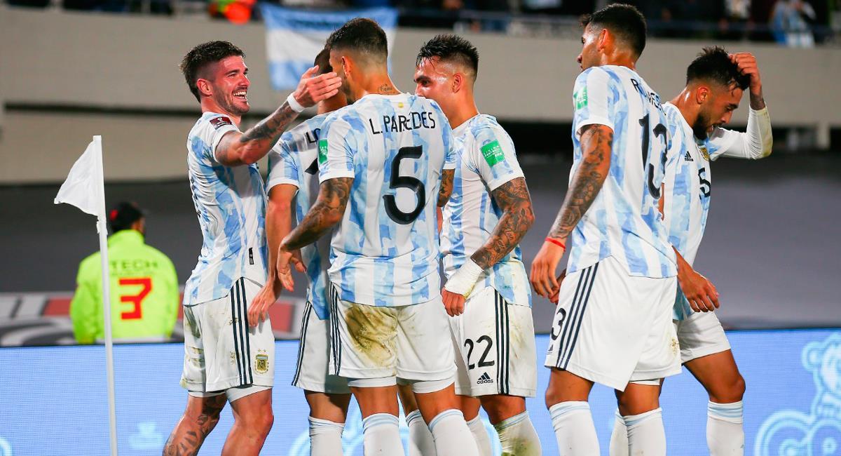 Argentina alista un once con más de una variante para recibir a Perú. Foto: Twitter @Argentina