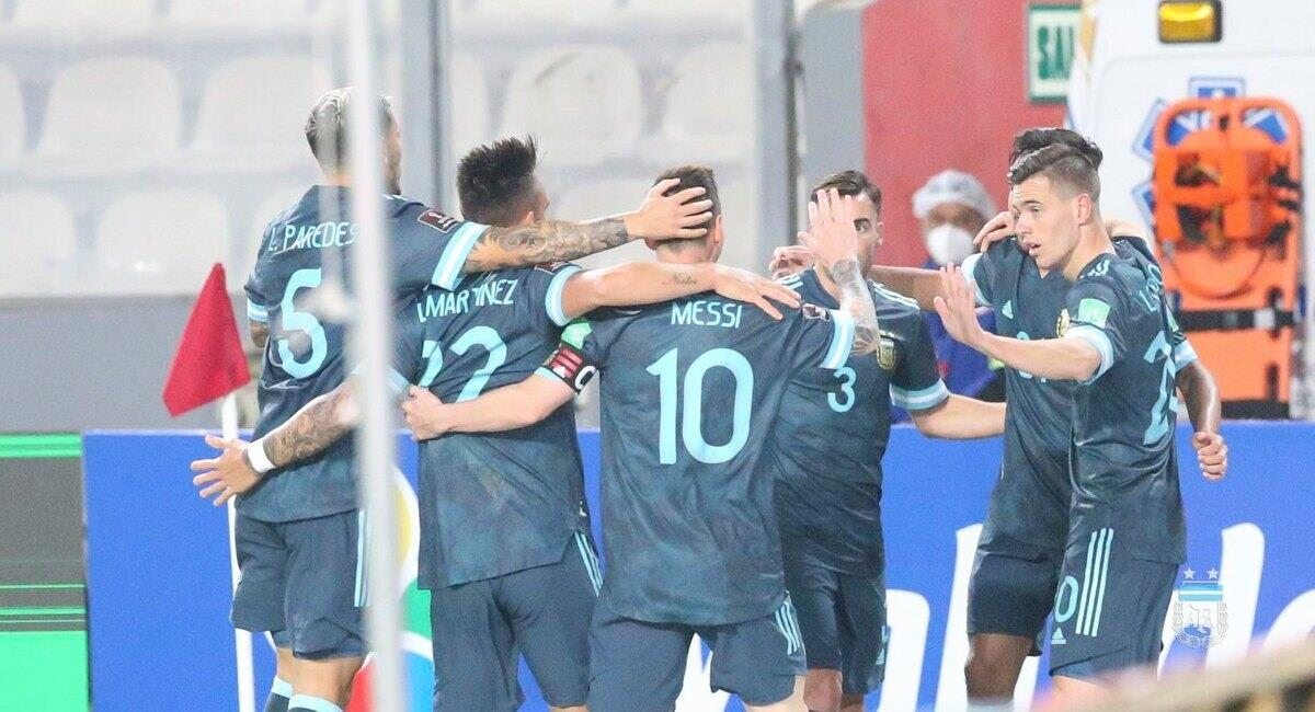 Argentina recibirá a Perú. Foto: AFA