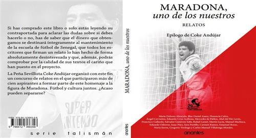 """""""Maradona, uno de los nuestros"""", libro sobre la temporada del '10' en Sevilla"""