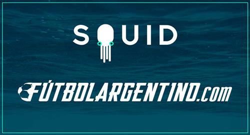 Todo el fútbol argentino en SQUID con Futbolargentino.com